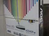 AOC E2243FW(LED屏)显示器用起来蛮爽滴